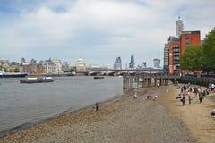 Het Strand van Londen Royalty-vrije Stock Foto's