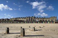 Het Strand van Lowestoft, Suffolk, Engeland Stock Afbeeldingen