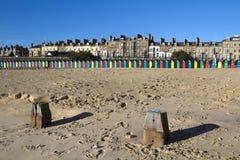 Het Strand van Lowestoft, Suffolk, Engeland Stock Afbeelding