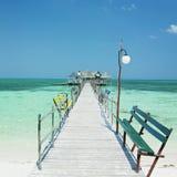 Het strand van Lucia van de kerstman, Cuba Stock Afbeelding