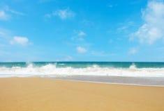 Het strand van MAI Khao Stock Foto