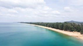 Het strand van MAI Khao Royalty-vrije Stock Fotografie