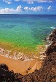 Het strand van Makena, Maui royalty-vrije stock afbeeldingen