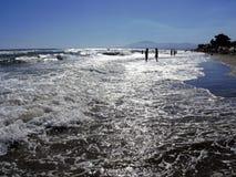 Het strand van Malaga Royalty-vrije Stock Foto's