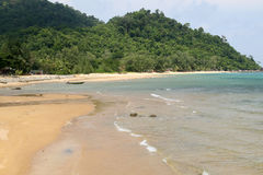 Het strand van Maleisië in Tioman Stock Foto's