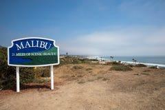 Het Strand van Malibu stock foto