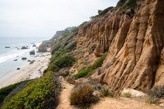 Het Strand van Malibu stock fotografie