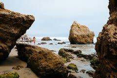 Het Strand van Malibu royalty-vrije stock afbeelding