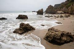 Het Strand van Malibu royalty-vrije stock foto's