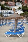 Het strand van Mallorca. Stock Afbeelding
