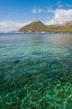 Het strand van Mallorca Formentor Royalty-vrije Stock Fotografie