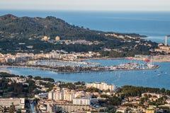 Het strand van Mallorca - Portalen Nous royalty-vrije stock afbeelding