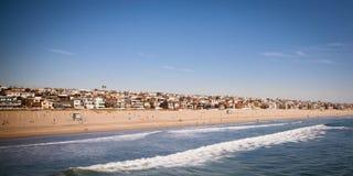 Het Strand van Manhattan Royalty-vrije Stock Afbeelding