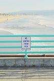 Het Strand van Manhattan Stock Foto
