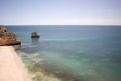 Het strand van Marinha Stock Afbeelding