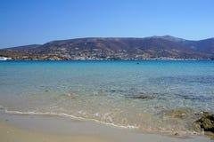Het strand van Martselo is een oase van ontspanning stock foto