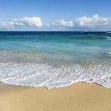 Het strand van Maui, Hawaï. Royalty-vrije Stock Fotografie