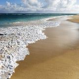 Het strand van Maui, Hawaï. Royalty-vrije Stock Afbeelding