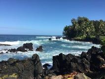 Het Strand van Maui overziet Royalty-vrije Stock Foto