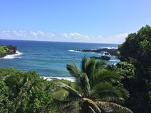 Het Strand van Maui overziet 2 Stock Foto