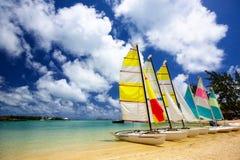 Het strand van Mauritius Royalty-vrije Stock Foto