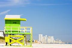 Het Strand van Miami Royalty-vrije Stock Fotografie