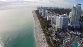Het Strand van Miami stock videobeelden