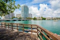 Het strand van Miami Royalty-vrije Stock Foto's