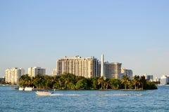 Het strand van Miami Royalty-vrije Stock Foto