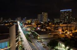 Het Strand van Miami, Florida stock foto