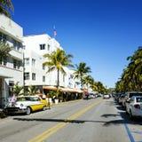 Het strand van Miami, Floride, de V Royalty-vrije Stock Afbeelding