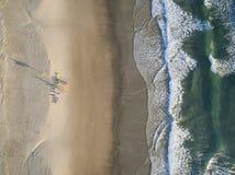 Het Strand van Miami op de Gouden Kust, Queensland, Australië stock fotografie