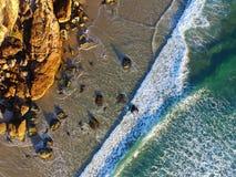 Het Strand van Miami op de Gouden Kust, Queensland, Australië royalty-vrije stock afbeelding
