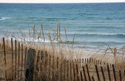 Het Strand van Michigan van het meer Stock Foto's