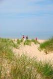 Het Strand van Michigan van het meer royalty-vrije stock afbeelding