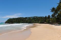 Het strand van Mirissa Royalty-vrije Stock Foto's