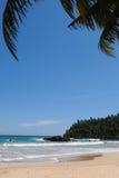Het strand van Mirissa Royalty-vrije Stock Foto