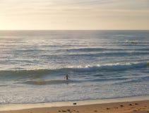 Het strand van Mona Vale Stock Foto's