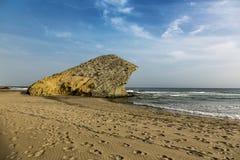 Het strand van Monsul royalty-vrije stock fotografie
