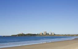 Het Strand van Mooloolaba Royalty-vrije Stock Afbeelding