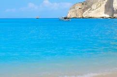 Het strand van Navagio Royalty-vrije Stock Afbeelding