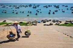 Het strand van Ne van Mui Stock Afbeeldingen