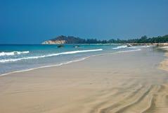 Het strand van Ngapali Royalty-vrije Stock Afbeeldingen