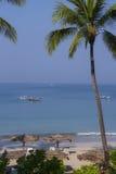Het Strand van Ngapali - Staat Rakhine - Myanmar royalty-vrije stock afbeeldingen