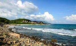 Het strand van Nhatrang Stock Foto