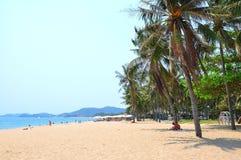 Het strand van Nhatrang, Vietnam Royalty-vrije Stock Afbeeldingen