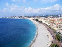 Het strand van Nice Royalty-vrije Stock Foto's