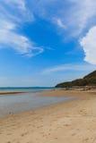 Het strand van Nice Royalty-vrije Stock Afbeeldingen