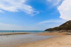 Het strand van Nice Stock Afbeelding