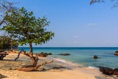 Het strand van Nice in Mun Nork Island Stock Afbeeldingen